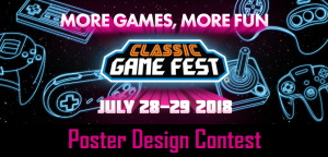 Classic Game Fest Poster Contest